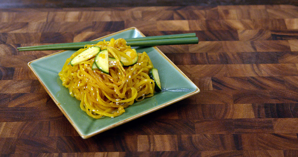 Asian Inspired Vegetable Noodles
