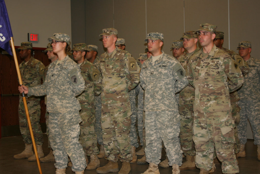 Farewell Ceremony to the 411th Civil Affairs Battalion Soldiers