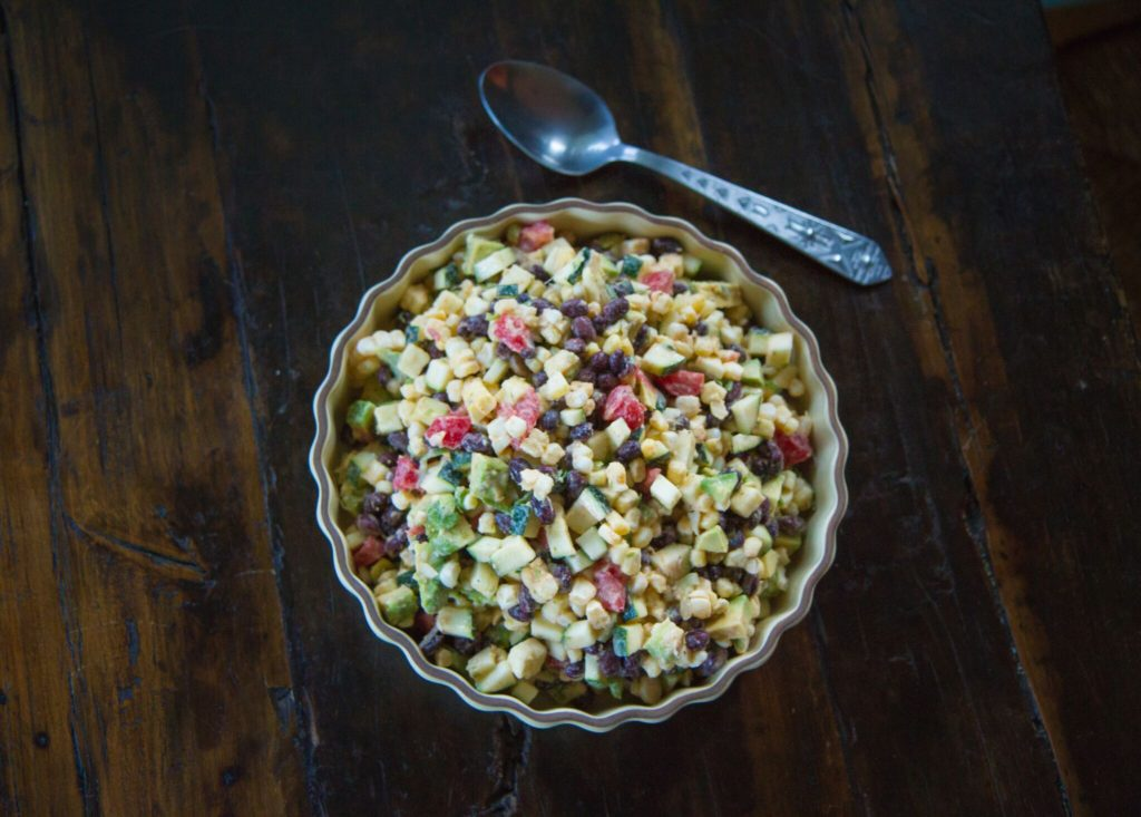 Chunky Tex-Mex Vegetable Salad