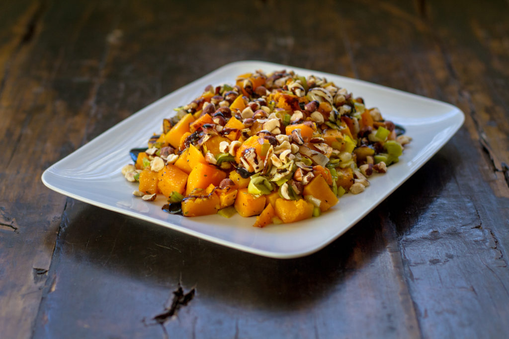Roasted Butternut Squash with Balsamic Drizzle