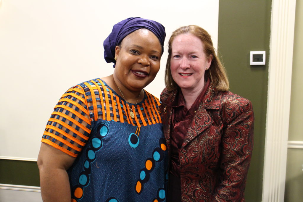 To Bring More Peace in the World: A Public Talk with Noble Prize Winner Leymah Gbowee