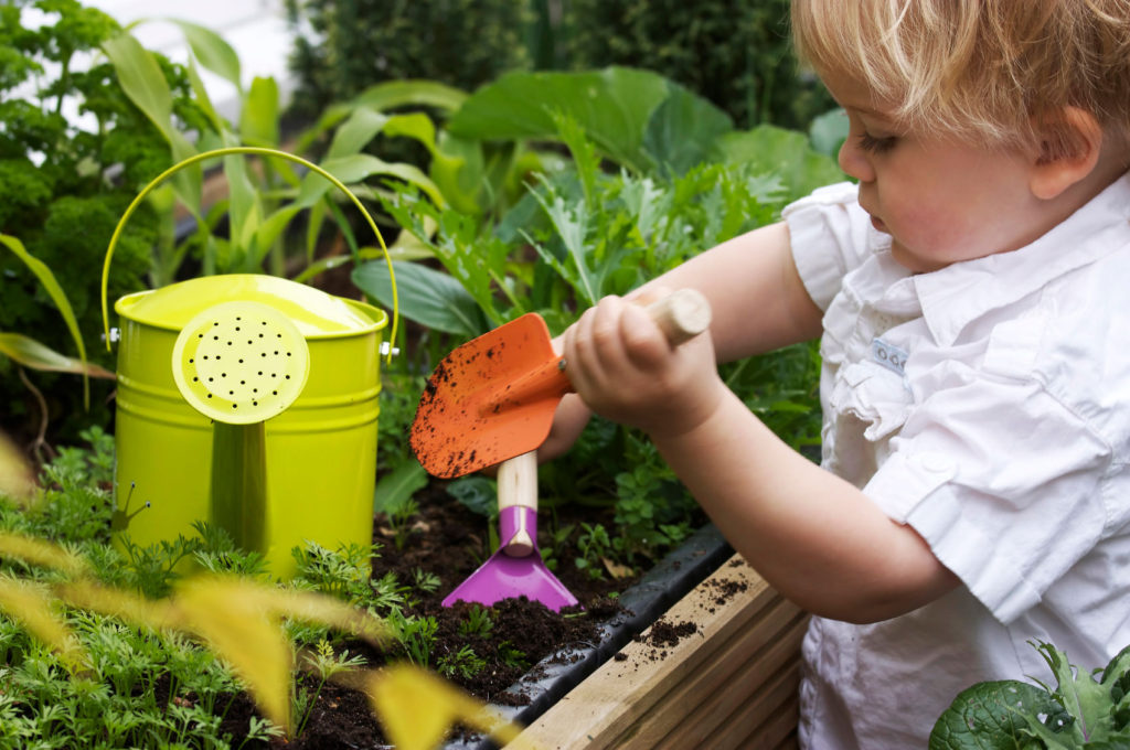 The Value of Gardening with Children