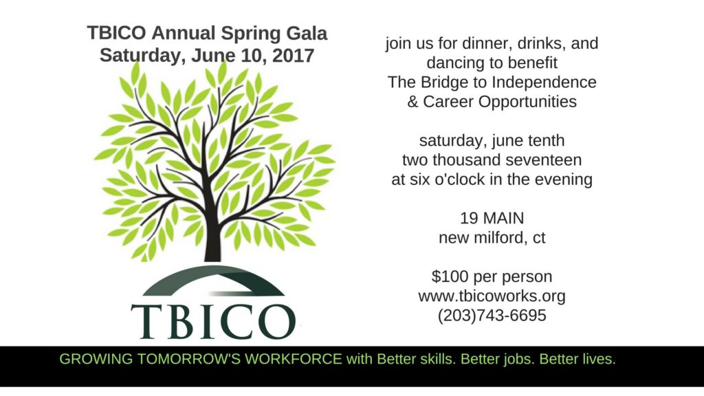 You're Invited to the TBICO 2017 Annual Spring Gala