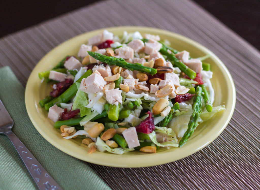 Blood Orange and Asparagus Chicken Salad