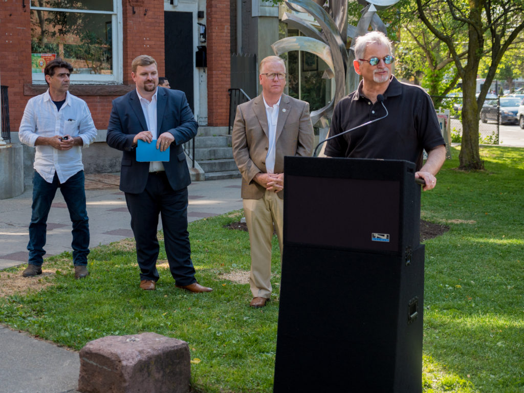Urban Sculpture Park Enhances Danbury Downtown Streetscape