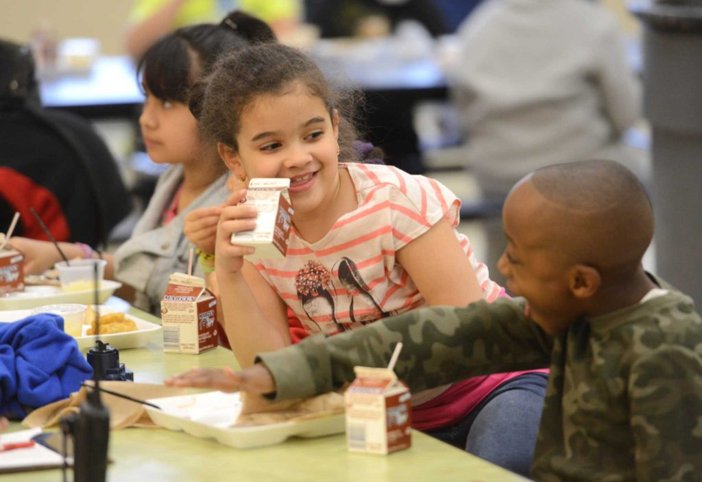 Summer Meals Fill Hungry Little Bellies