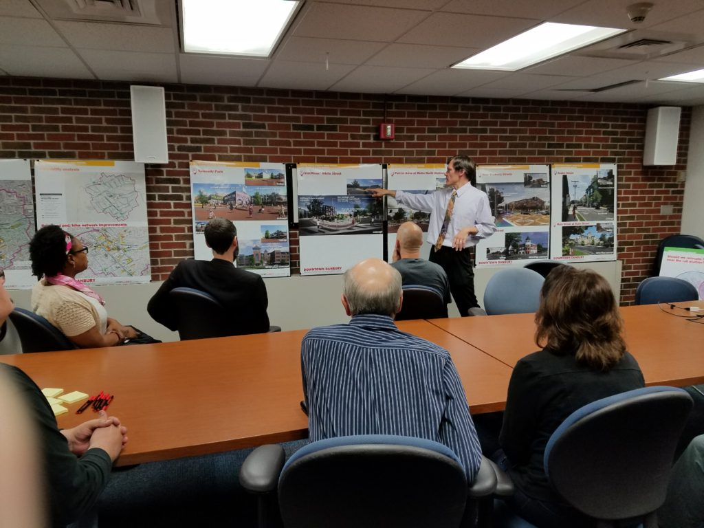 Mayor Boughton Hosts Downtown Danbury Development Meeting
