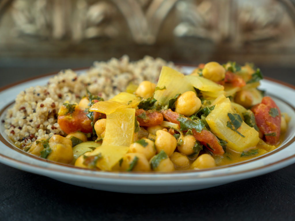 Slow Cooker Chickpea Curry