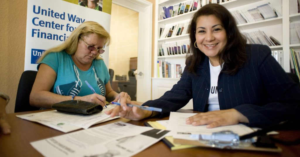 United Way Fights for Economic Health: We Can Help You Realize Your Financial Goals