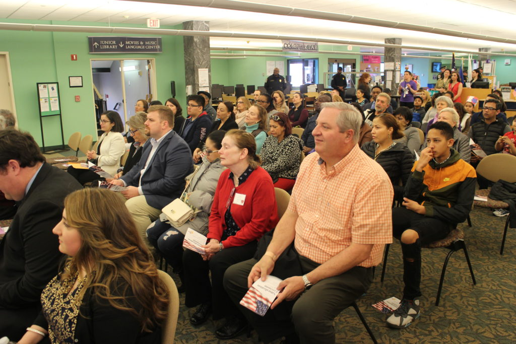 Danbury Library Hosts a Special Naturalization Ceremony  Nineteen New Citizens Took the Oath of Allegiance at the Danbury Library