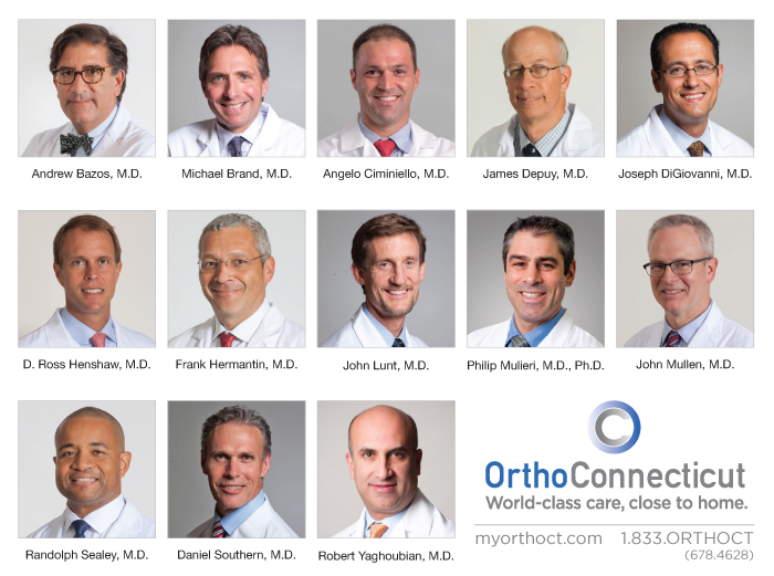 OrthoConnecticut Doctors Honored by Their Peers and Their Patients
