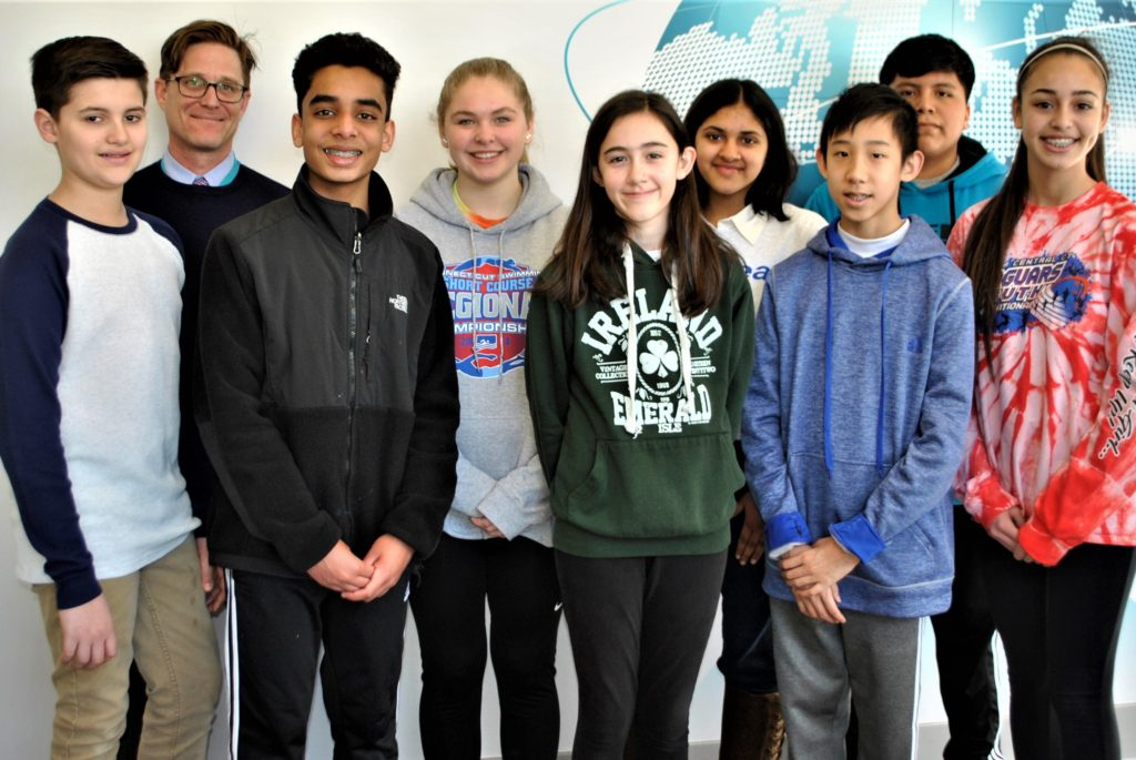 Westside Middle School Students Take Top Prizes in CT Science and Engineering Fair