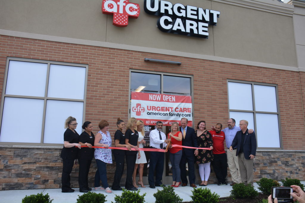 AFC Urgent Care Celebrates Milestone in Danbury