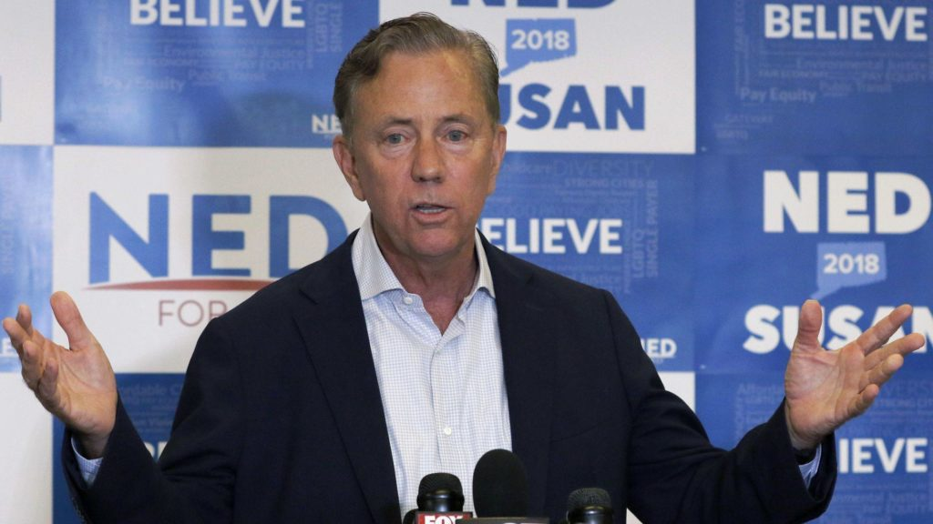 With Primary Over, Lamont Tries to Define Himself and Stefanowski